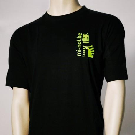 T-Shirt Noire Logo Mi-Noi
