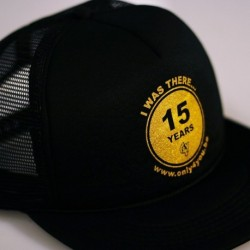 Casquette noir - 15 Years Only4You
