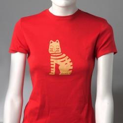T-shirt rouge logo Mi-Noi
